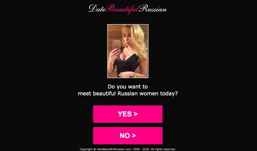 DateBeautifulRussian main page